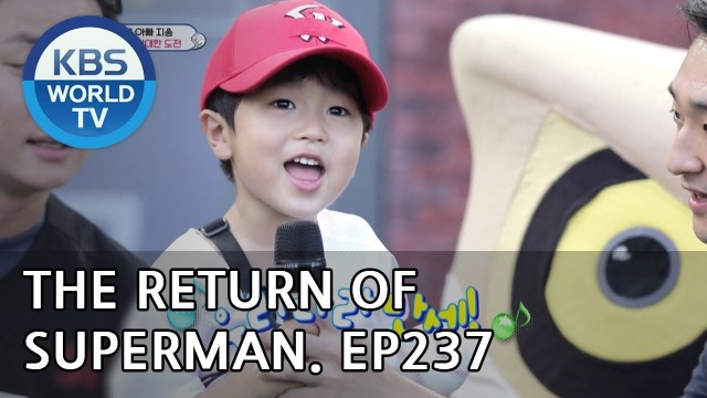 The Return of Superman | 슈퍼맨이 돌아왔다 – Ep.237: Today is Always a Special Day[ENG/IND/2018.08.12]