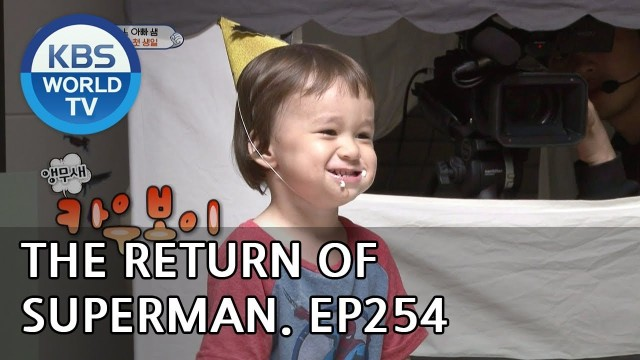 The Return of Superman|슈퍼맨이 돌아왔다-Ep.254:I'll Go to You Like Winter's First Snow[ENG/IND/2018.12.09]