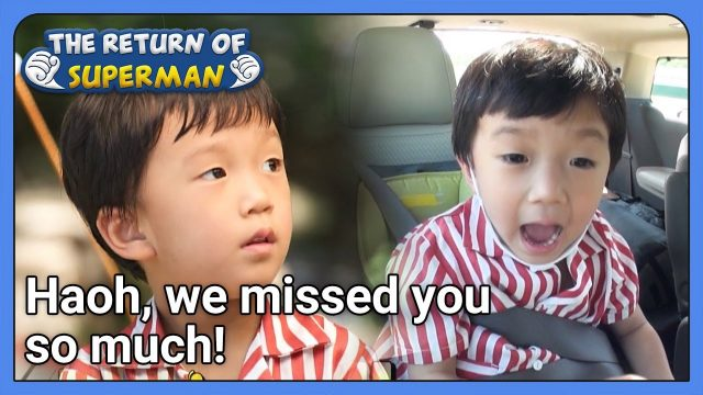 Haoh, we missed you so much! (The Return of Superman) | KBS WORLD TV 210912